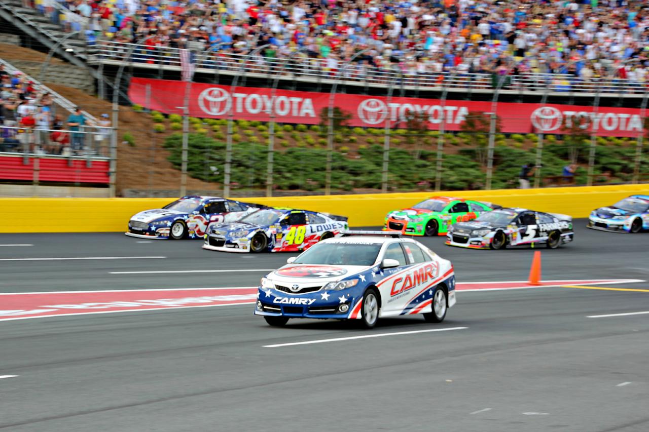 ....race lap.