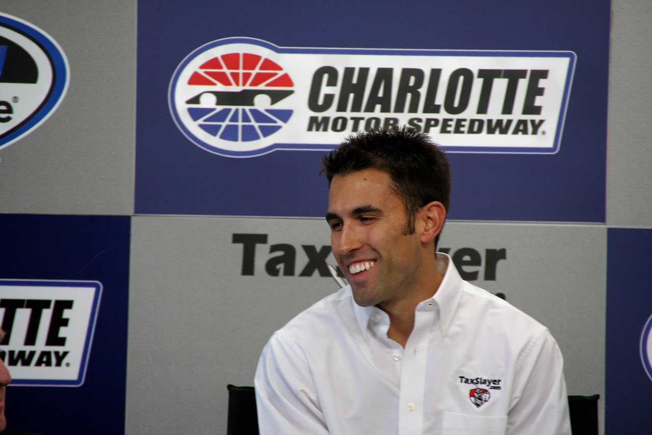 Aric Almirola talks about his TaxSlayer ride