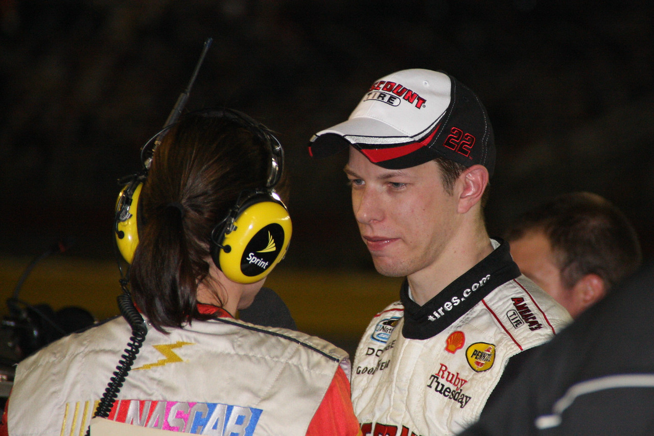 Brad Keselowski explaines what went wrong