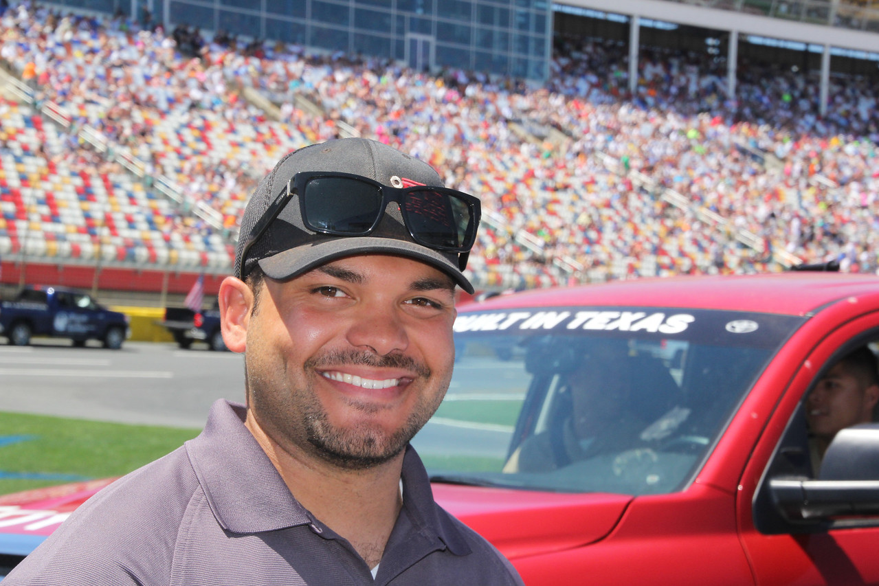 NASCAR driver Ryan Gifford