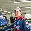 teen age driver Brad Coleman runs #27