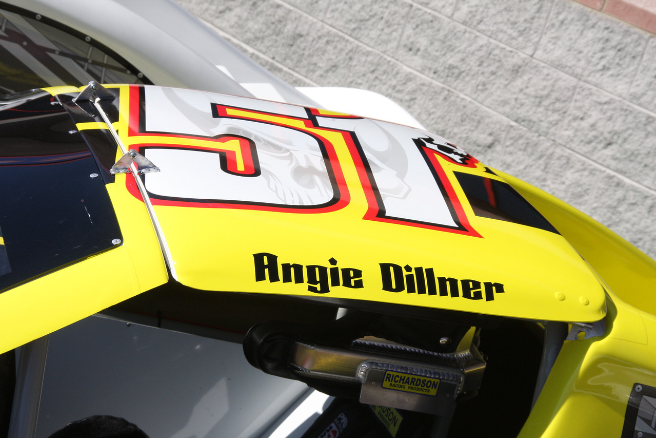 Angie Dillner or wife of SPEED channels Bob Dillner