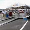 NASCAR inspection area