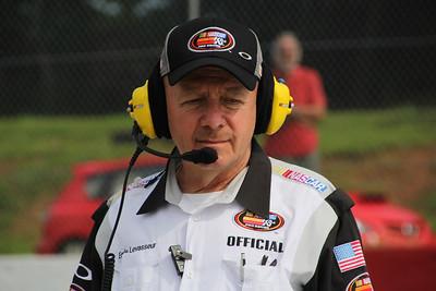 Mr. Levasseur...NASCAR official