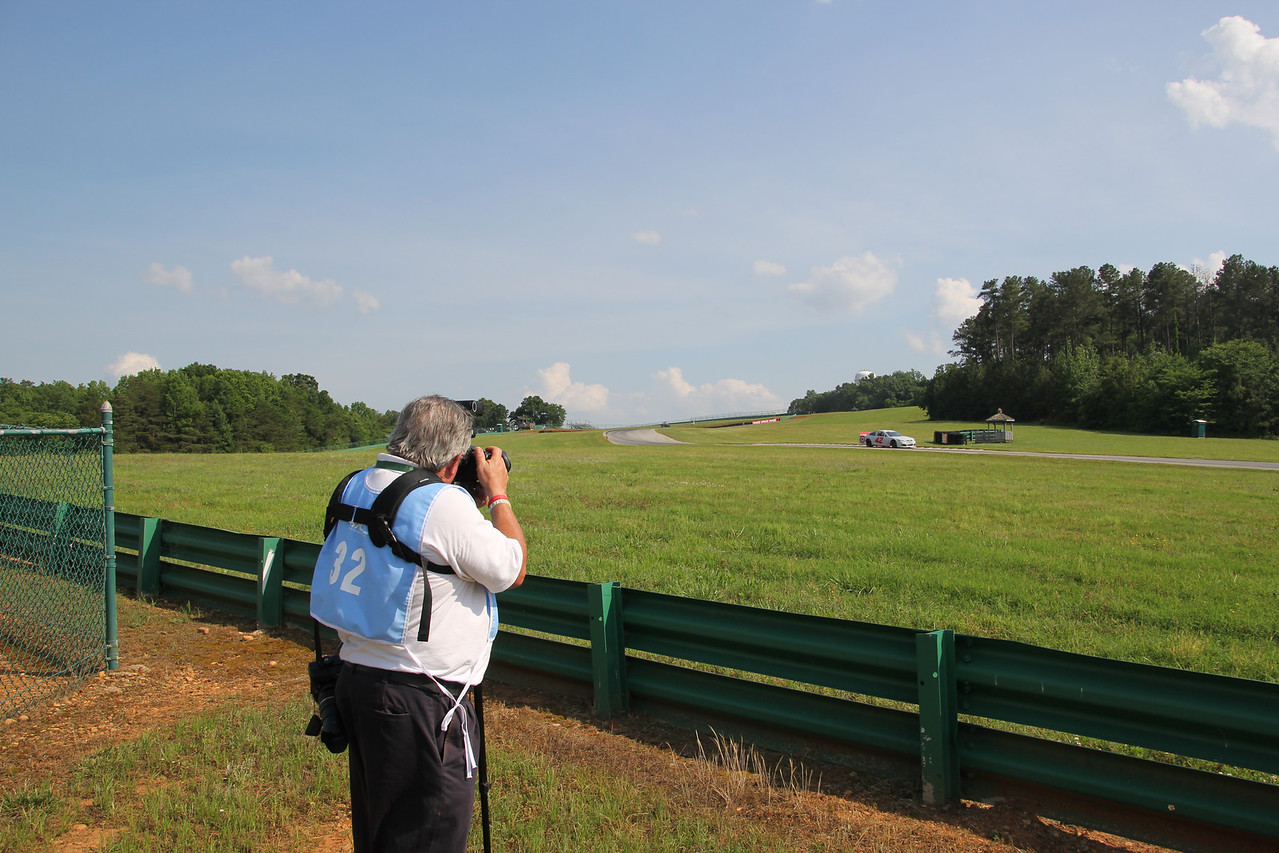 Professional race photographer John Davison is here today.