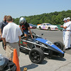 the Ariel Atom is a race car built at the VIR facility. Here they are taking fans out for a ride around the track.