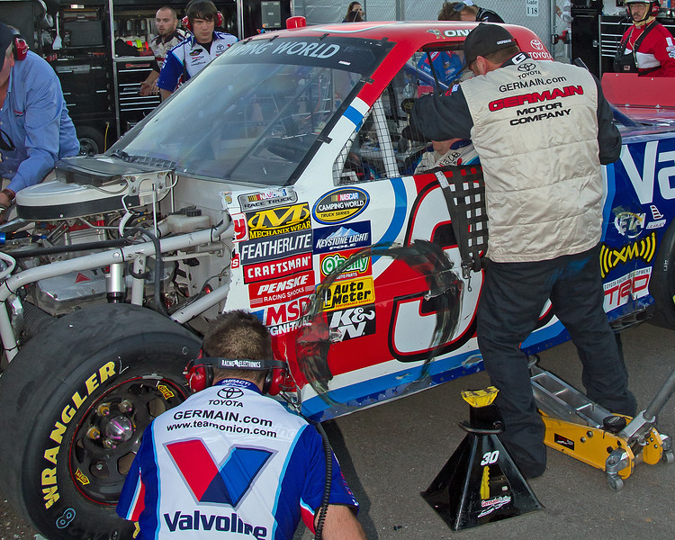 Todd Bodine Straps in and Gets Ready to Speed Back onto the Track at Talladega