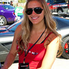 Friendly Dodge Girl at Dodge Fan Exhibit Talladega 2010 Amp Energy Juice 500 and Mountain Dew 250.