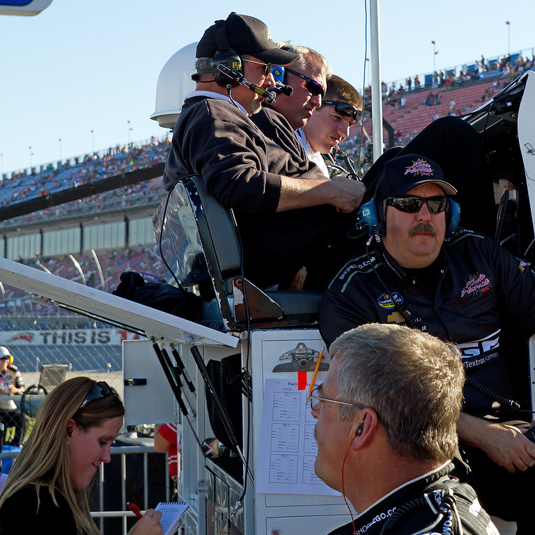 Everyone on the Hornaday Team felt confident as Ron ran a great race and his truck preformed flawlessly.