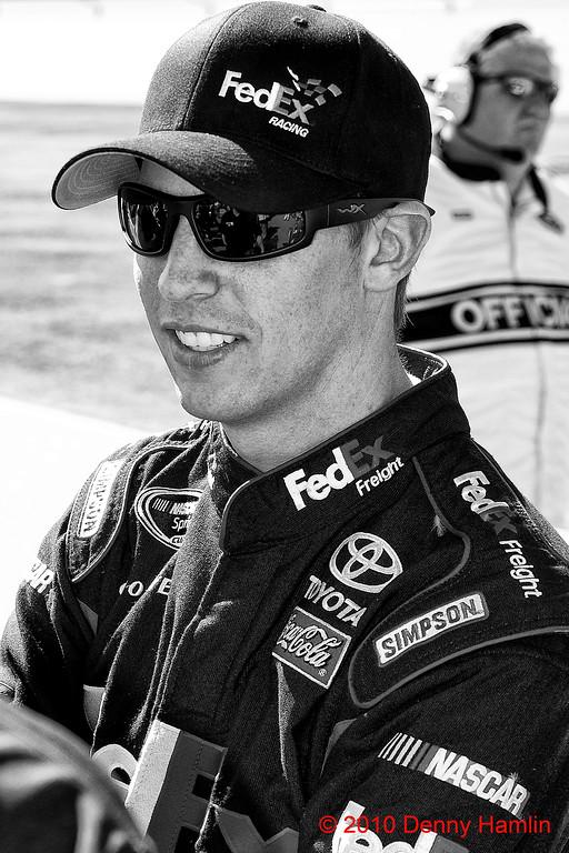 Denny Hamlin Talladega 2010