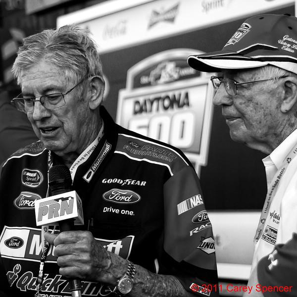 Leonard Wood and Glen Wood Daytona 2011