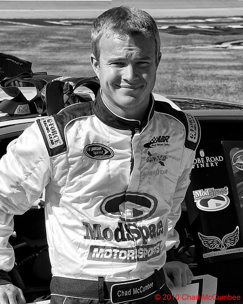 NASCAR Drivers Black and White Gallery