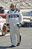 """NASCAR Official Jerry Hines gives me a look that says """"get off pit row"""" just minutes before the race starts. I spent a few minutes speaking with him and he is really a nice guy thats serious about safety."""