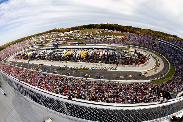 NASCAR Martinsville, VA 10-25-09