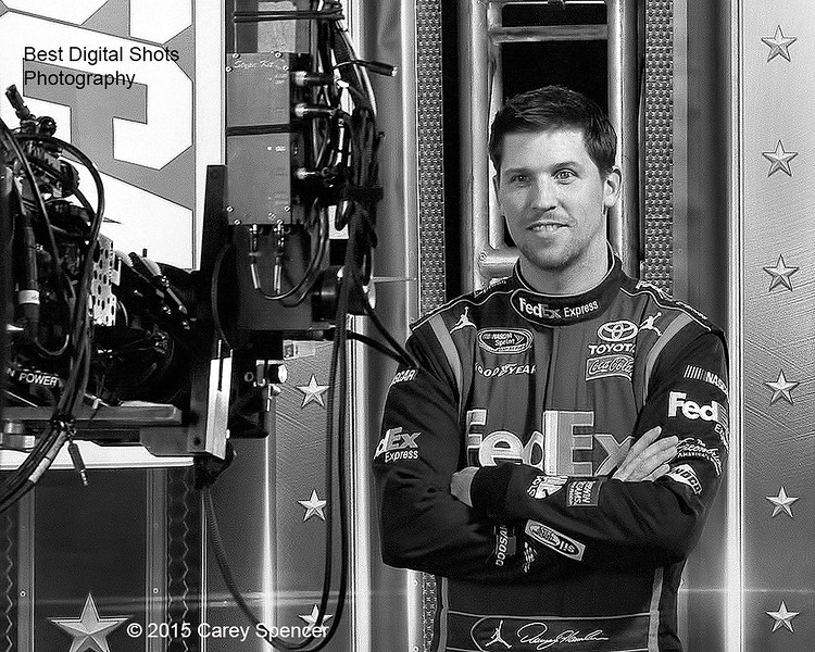 Denny Hamlin by Carey Spencer Best Digital Shots