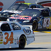 No. 34 Robert Richardson, Jr. A&w Ford Races Beside Logano and in Front of Kahne at Talladega Amp Energy Juice 500.