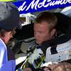 NASCAR Sprint Cup Driver Chad McCumbee from Supply, North Carolina Prepares for 2010 Amp Energy Juice 500 at Talladega.