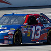 Casey Mears in the No. 13 GEICO Toyota at Talladega on Halloween Day in the Amp Energy Juice 500.
