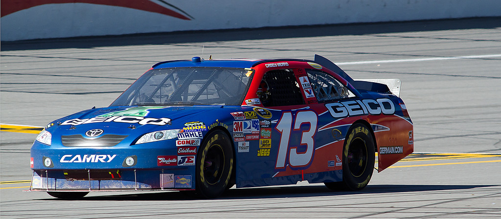 Casey Mears Geico Toyota at Talladega Amp Energy Juice 500
