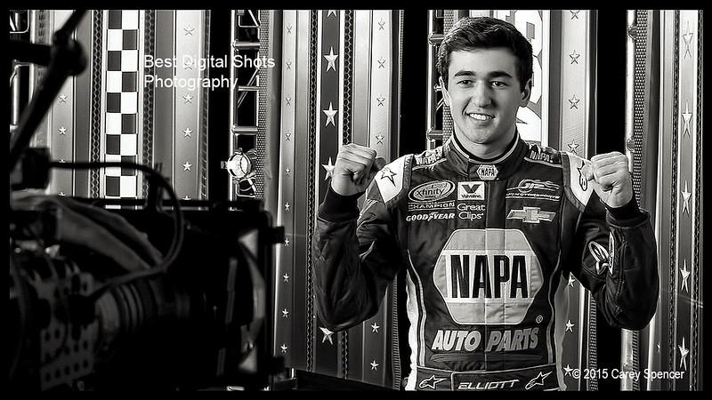 NASCAR Chase Elliott by Carey Spencer