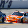 Busch No. 2, Logano No. 20 and Montoya No. 42 Bumper to Bumper at Talladega AMp Energy Juice 500.