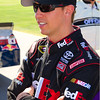 FedEx No. 11 Sprint Cup Driver Denny Hamlin at Talladega Amp Energy Juice 500.