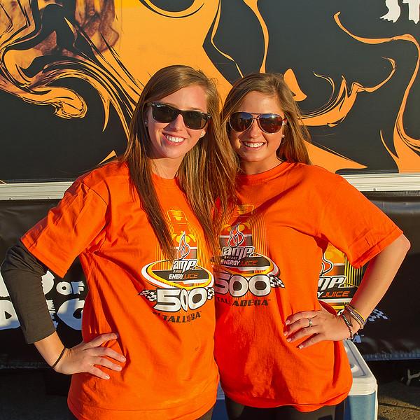 Amp Energy Juice 500 Girls at Talladega