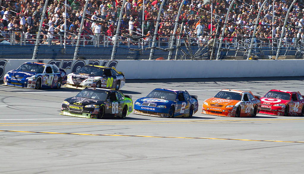 Two Row of Racing at Taladega Amp Energy Juice 500.