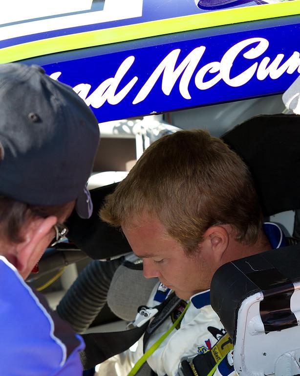 NASCAR Sprint Cup Driver Chad McCumbee from Supply, North Carolina.