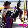 Hamlin Team Member Furino During Pit Stop at Talladega Amp Energy Juice 500.