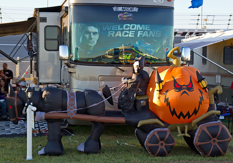 Halloween at Talladega 2010.  Welcome Race Fans.