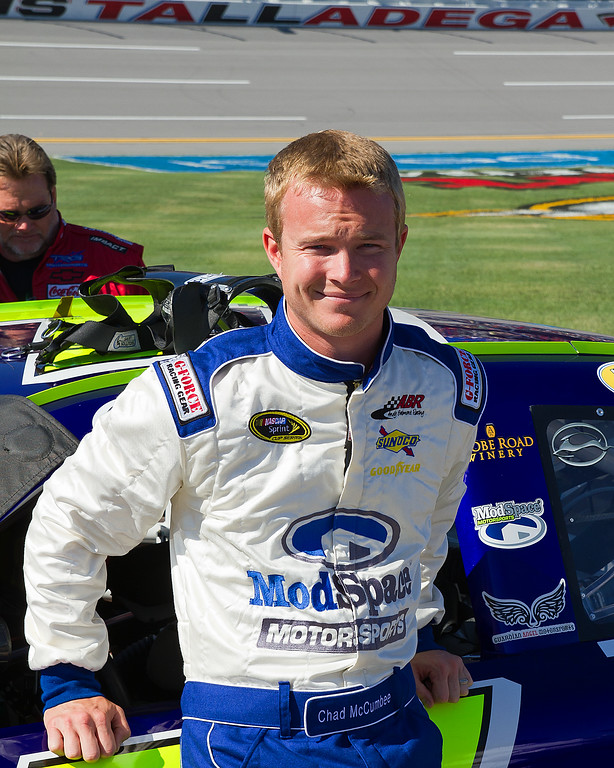 Chad McCumbee up and Coming NASCAR Sprint Cup Driver from Supply, North Carolina.