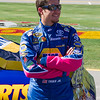 NASCAR Sprint Cup Driver Martin Truex, Jr. Prior to Start of the Amp Energy Juice 500 at Talladega