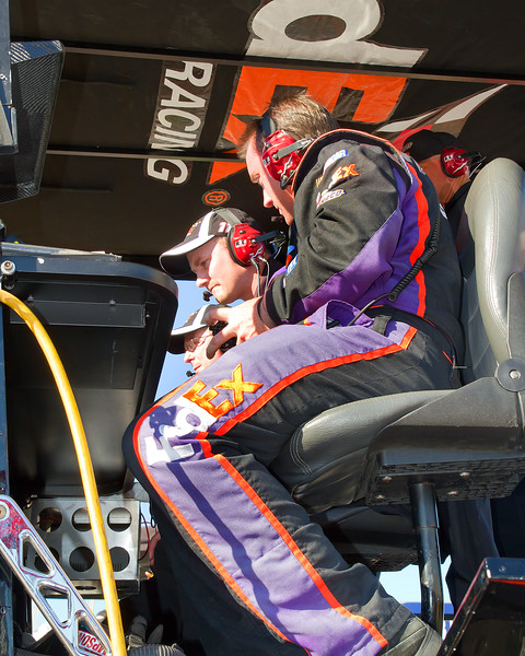 FedEx Racing Hamlin Crw Chief Mike Ford has Plenty to be Proud of.  Not Only has his Team Performed Well Through Most of the Year, In May, the team won the 2010 NASCAR Sprint Crew Challenge beating out Burton's team in the finals.