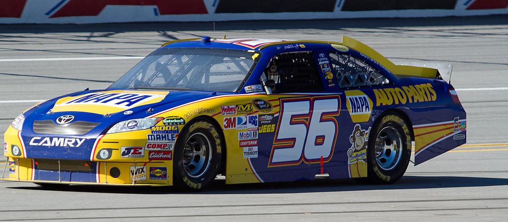 Martin Truex, Jr. No. 56 Napa Car at Talladega.