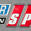 Speed TV Sign at Talladega for Amp Energy Juice 500