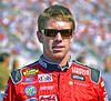 A slightly sunburned Carl Edwards