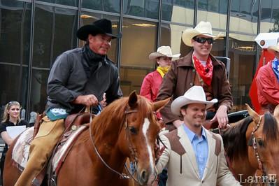 Wrangler Smith and a couple horses a...............