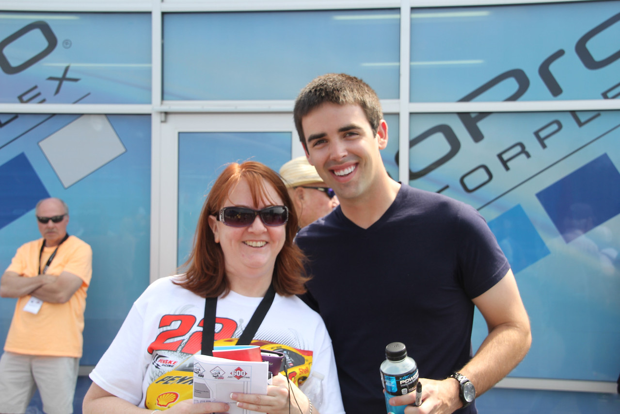 my daughter Leslie with Timmy Hill