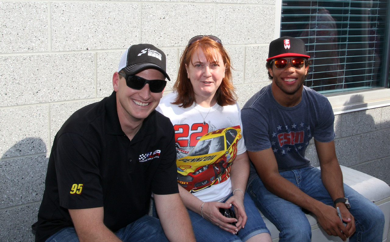 Michael McDowell, Les and Bubba Wallace