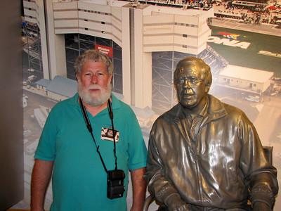 Kurt Busch: at NASCAR Hall of Fame