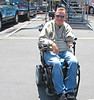 drag racer Darrell Gwinn makes it to all the races.