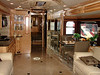 I got inside one of the motorhomes. Can't tell you which one.