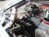 a NASCAR cockpit