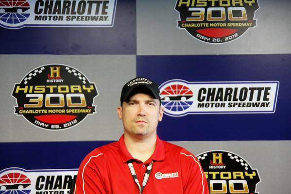 NASCAR interviews