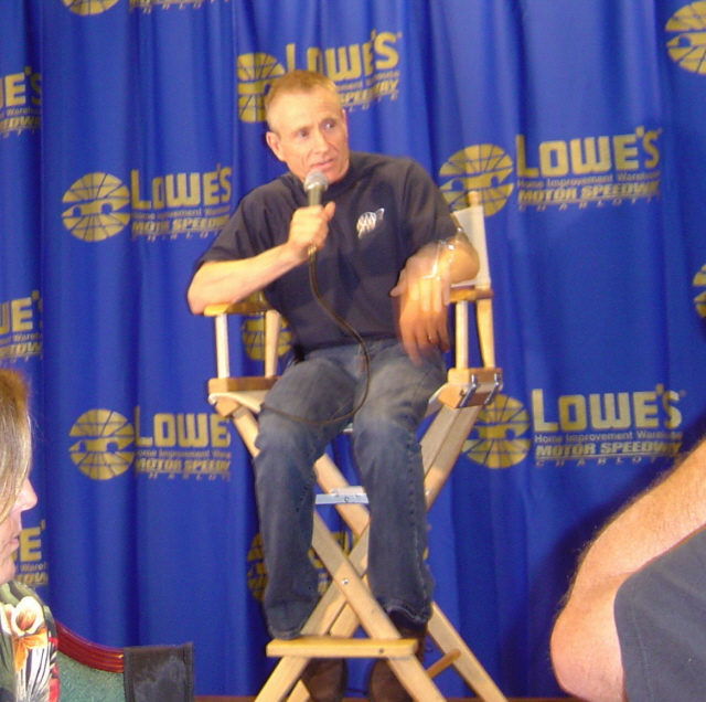 Mark Martin Lowes Speedway Club April 18, 2006