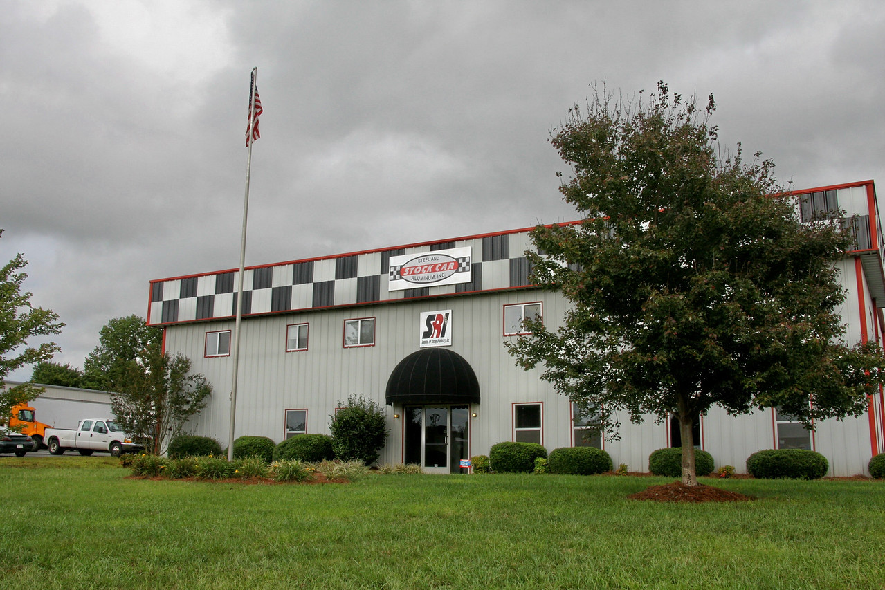 STOCK CAR STEEL AND ALUMINUM is at 801 Performance Rd, Mooresville, NC...next to the Mooresville Drag Strip.