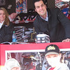 Shy and Ty with Sam Hornish Jr.