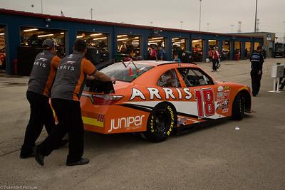 Chicago Speedway #18 Daniel Rain LR-4399