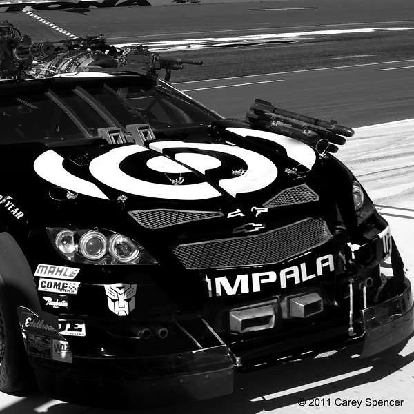 Target No. 42 NASCAR Autobot